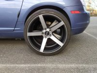 Chrysler Crossfire: Wheels and tires